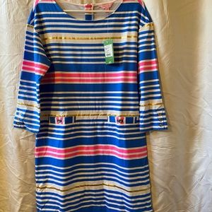 Lilly Pulitzer Striped Jersey Dress